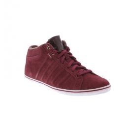 K-SWISS Hof IV MID SDE VNZ sommer Sneaker rot Leder 03106636