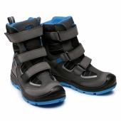 СНІГОХОДИ дитяче зимове взуття ОРІГІНАЛ KEEN Red1023682 wood Winter Wp 1023682 Raven/Magnet р 32-33