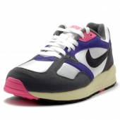 NIKE AIR BASE II VINTAGE – WHITE/BLACK – DARK GREY – COURT PURPLE 554706-156