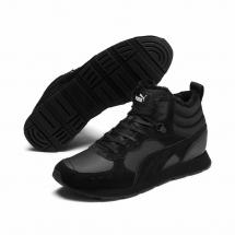 Ботинки зимние с мехом PUMA Vista Mid Wtr 369783 01  Black